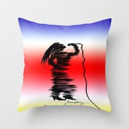 Cantante de Jazz Throw Pillow