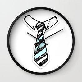Paper Tie Wall Clock