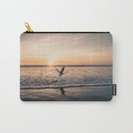 Bird and the beach Carry-All Pouch