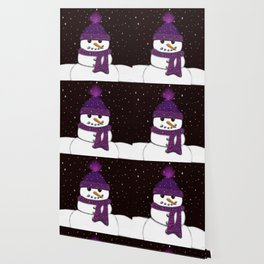The Armless Snowman Wallpaper