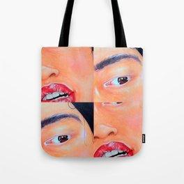 Face Detail  Tote Bag