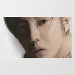 Exo Fan Art Luhan Rug