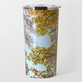 """""""Up in the air II"""". Autumn colors Travel Mug"""