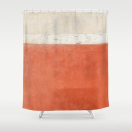 Abstract Street Wall Shower Curtain