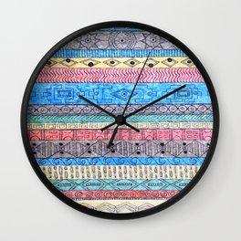 Textile No.1 Wall Clock