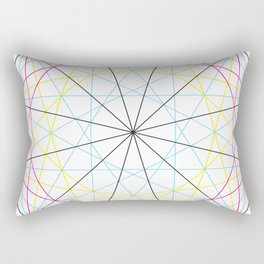 Dodecagon Multi Rectangular Pillow