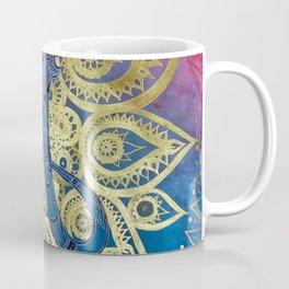 ELEPHANT SKULL MANDALA Coffee Mug