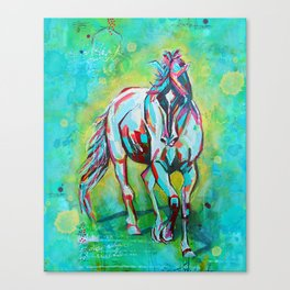 Free Spirit Horse Art Canvas Print