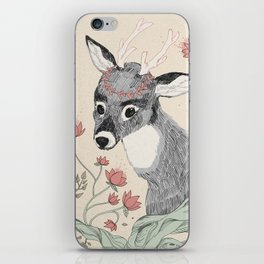 The deer from the forest iPhone Skin