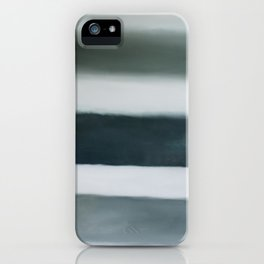 grey strata iPhone Case