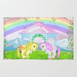 g1 my little pony collector ponies Rug