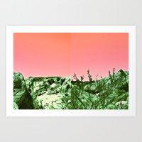ezra koenig Art Prints featuring ezra by WILDTROPHYCHILD