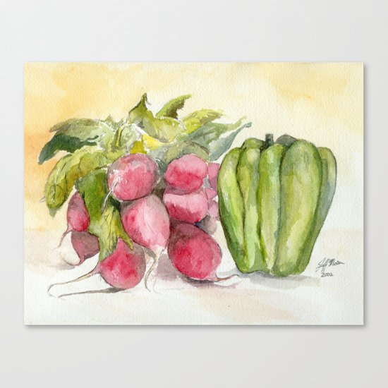 Produce I Canvas Print