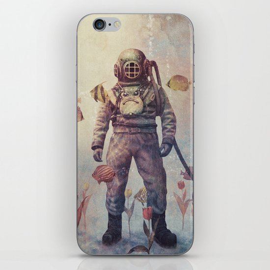 Deep Sea Garden - colour option iPhone & iPod Skin