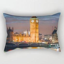 London after sunset Rectangular Pillow