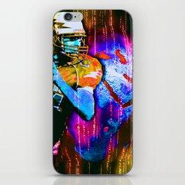 Digital Football iPhone Skin