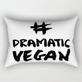 Vegan with Self Mockery Rectangular Pillow