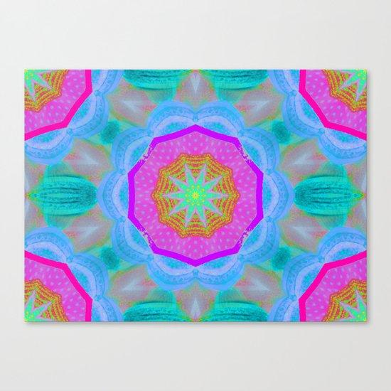 WOWPOWER Mandala Canvas Print