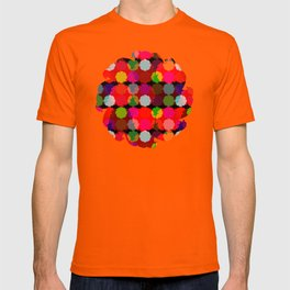 flying round in Circles abstract T-shirt