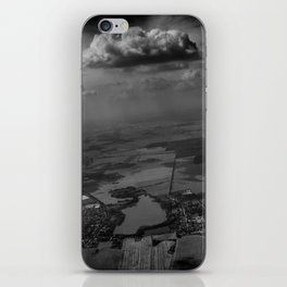living under the rain cloud iPhone Skin
