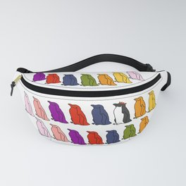Penguin Waddle - How to stand out in a crowd Fanny Pack