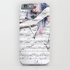Waiting Place on sheet music iPhone 6s Slim Case