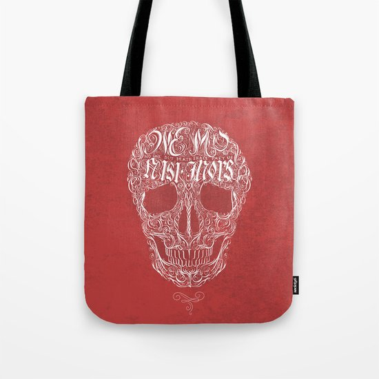 No One But Death (Shall Part Us) Tote Bag
