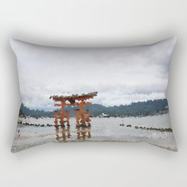 Miyajima Rectangular Pillow