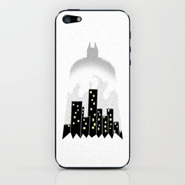 There, in the shadows!  iPhone Skin