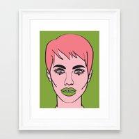mod Framed Art Prints featuring Mod by Grace Teaney Art