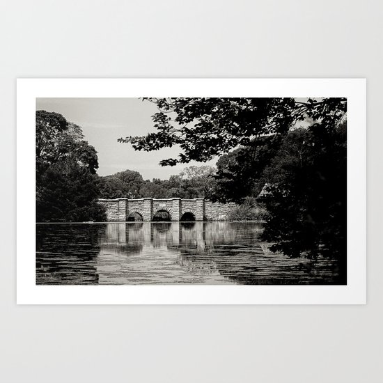 Setauket Millpond Bridge Art Print