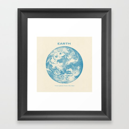 Third Planet  Framed Art Print