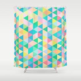 Retro Pastels Shower Curtain