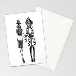 GasGirl&DiverGirl Stationery Cards