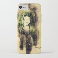 emerald iPhone & iPod Cases featuring Emerald by Cornelia Baciu