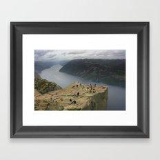 Preikestolen, Norway (2) Framed Art Print