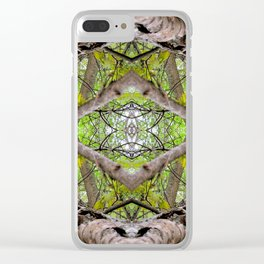 Branching Foward Clear iPhone Case