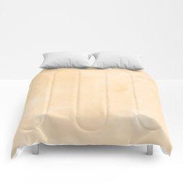 Simply Orange Sherbet Watercolor Comforters