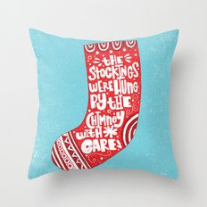 THE WORST CHRISTMAS EVER Throw Pillow