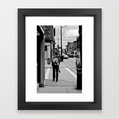 Life In a Guitar Town Framed Art Print