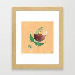 Wine Fairies 4 - Cabernet Sauvignon Framed Art Print