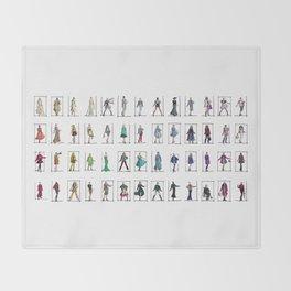 Fashion Rainbow Throw Blanket