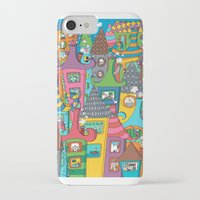 the neighbourhood iPhone & iPod Cases featuring Neighbourhood by Raquel Benmergui