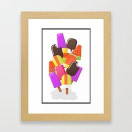 Ice cream 5 Framed Art Print