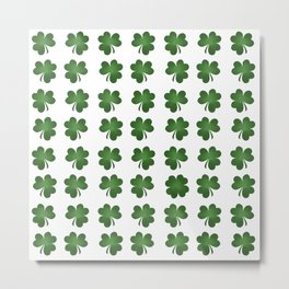 Find The Four Leaf Clover Metal Print