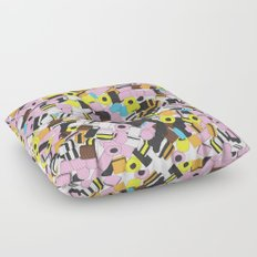 Lots of Liquorice Allsorts Floor Pillow