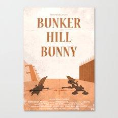 Bunker Hill Bunny Canvas Print