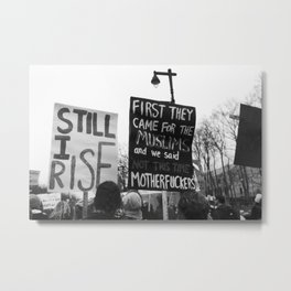women's march philly Metal Print