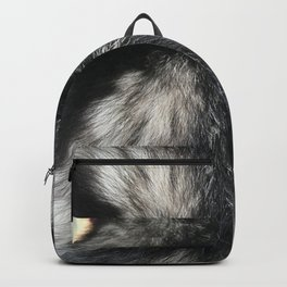 Furry Background Backpack