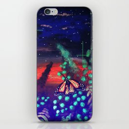 A Monarch Night iPhone Skin
